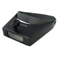 ヘッドルーペ (LEDライト付) 双眼タイプ レンズ倍率約1.5倍/約2.5倍/約3.5倍 1個 RX-59LED ティ・エス・ケイ(取寄品)