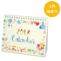 包む 2018年 カレンダー 卓上 CL-1806 1冊 (直送品)