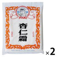 ユウキ食品 業務用 杏仁霜(きょうにんそう) アーモンドパウダー 400g 1セット(2個入) 杏仁豆腐の素