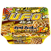 日清食品 日清焼そばU.F.O.ビッグ極太お好み焼味マシ×2チーズマヨ 24416 3食