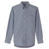 無印 形態安定ボタンダウンシャツ 紳士L