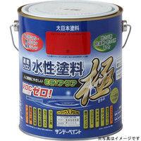 サンデーペイント 水性ECOアクア 茶 1600ml #273492(直送品)