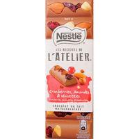 ラトリエ ミルク クランベリー&ナッツ ネスレ日本 1枚