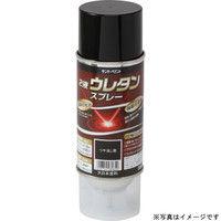 サンデーペイント 2液ウレタンスプレー 黒 320ml #20008A (直送品)