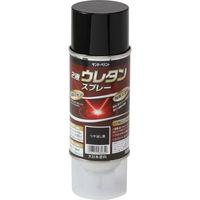 サンデーペイント 2液ウレタンスプレー つや消し黒 320ml #20008E (直送品)