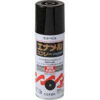 サンデーペイント エナメルスプレー exceed 黒 420ml #23N14(直送品)