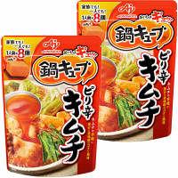 味の素 鍋キューブ ピリ辛キムチ 8個入パウチ 2個