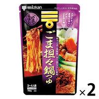 〆まで美味しい ごま担々麺鍋つゆ 袋750g