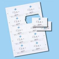 サンワサプライ インクジェットまわりがきれいな名刺カード・特厚 JP-MCC04 1個 (直送品)