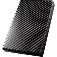 アイ・オー・データ機器 USB3.0/2.0対応ポータブルハードディスク「高速カクうす」 カーボンブラック 1TB HDPT-UT1K 1台  (直送品)