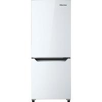 Hisense 150L 2ドア ファン式冷蔵庫 パールホワイト HR-D15C 1台  (直送品)