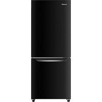 Hisense 150L 2ドア ファン式冷蔵庫 パールブラック HR-D15CB 1台  (直送品)