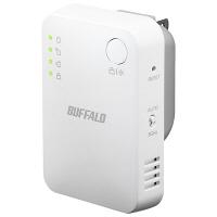 無線LAN中継機 11ac/n/g/b 866+300Mbps エアステーション ハイパワー コンパクトモデル WEX-1166DHPS  (直送品)