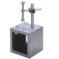 大菱計器製作所 鋳鉄製 V溝付桝形ブロック B級 250 JK306 1台 (直送品)