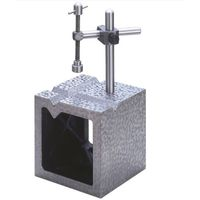 大菱計器製作所 鋳鉄製 V溝付桝形ブロック B級 350 JK308 1台 (直送品)