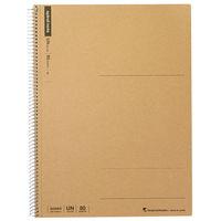 マルマン スパイラルノート A4 無地 80枚 2冊 N225ES (直送品)(直送品)