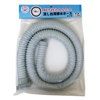 流し台ネジ式排水ホース VPH-40WN1.5 十川産業 (直送品)