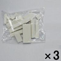 【アウトレット】ミツヤ 消しゴム工場の切れ端を集めた日本製消しゴム 白 1セット(3袋:1袋200g×3) ASK-200-WH