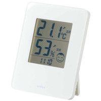 デジタル快適計2ホワイト(熱中症・風邪注意目安) TD-8281 エンペックス (直送品)