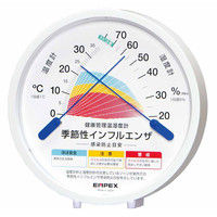 健康管理温湿度計(インフルエンザ感染防止目安) TM-2584 エンペックス (直送品)
