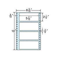 東洋印刷 タックフォームラベル(剥離紙ブルー) NC06RB 1箱(500折×2セット) (直送品)