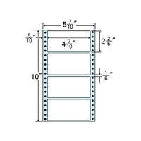 東洋印刷 タックフォームラベル(剥離紙ブルー) NX05CB 1箱(500折×2セット) (直送品)
