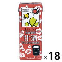 キッコーマン 豆乳飲料甘酒 200ml 36本 18本入×2