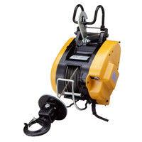 リョービ 電動小型ウインチ マグネットモータ付31m仕様 WIM-125A-31 (直送品)