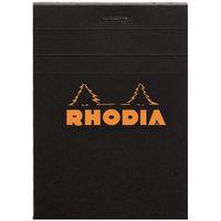 RHODIA(ロディア) BLOC RHODIA(ブロックロディア) No.12 方眼 ブラック cf122009 1セット(10冊入) (直送品)