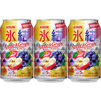 氷結 赤りんご&ぶどう 350ml 3缶