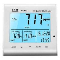 CEM 卓上型二酸化炭素検知器 DT-802