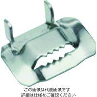 JUBILEE フレキシバンド ステンレス304 19mm用バックル FB19H 1箱(25箱) 195-0916(直送品)