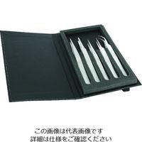 IDEAL-TEK idealtek 耐酸耐磁ステンレスピンセット 組セット K5HP-SA-IT 1セット(5本) 206-9731(直送品)