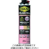 ABC 簡易型発泡ウレタンフォーム 1液ガンタイプ インサルパック スプレーRガンフォーム 780ml フォーム色:ピンク 207-8973(直送品)