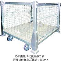 サンキン ハンガーパレット NEXT キャスター付 1000X800X940 SHG-3S 1台 217-6879(直送品)
