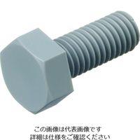ケミカルスクリュー ポリ塩化ビニル 六角ボルト (100個入り) PVC/BT M4-25 207-8245(直送品)