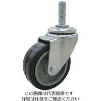 ユーエイ ねじ込みキャスターステンレス製自在車100径ハードゴム車輪P1.75 SUS-ET-100NR-M12-35 809-3228(直送品)