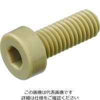 ケミカルスクリュー ポリエーテルエーテルケトン 六角穴付低頭ボルト (100個入り) PEEK/LC M3-6 207-8060(直送品)