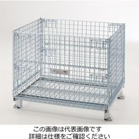 テイモー(TEIMO) ボックスパレットマルチタイプキャスター付 810M Cツキ 1台(直送品)