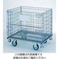 テイモー(TEIMO) ボックスパレットキャスター付 810L Cツキ 1台(直送品)