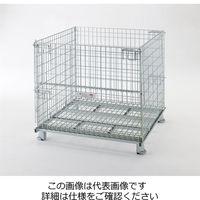 テイモー(TEIMO) ボックスパレットキャスター付 1010L Cツキ 1台(直送品)