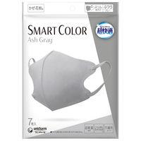 超快適マスク SMART COLOR(スマート カラー) アッシュグレー ふつう 1個(7枚) ユニ・チャーム