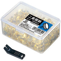 コクヨ 二重画鋲 カヒ-5 1セット(約5000本:約500本入×10ケース)(直送品)