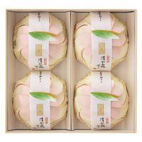 三越伊勢丹 清水白桃ぜりぃ 1箱(4個入)三越の紙袋付き 手土産ギフト 母の日