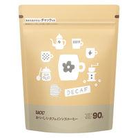 【インスタントコーヒー】UCC上島珈琲 UCC おいしいカフェインレスコーヒー 1袋(90g)