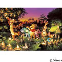 テンヨー ディズニー ジグソーパズル 1000ピース 森のキャンドルパーティー D-1000-270 1セット(直送品)