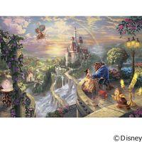 テンヨー ディズニー ジグソーパズル 1000ピース Beauty and the Beast Falling D-1000-487(直送品)