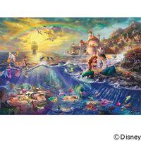 テンヨー ディズニー ジグソーパズル 1000ピース The Little Mermaid D-1000-489 1セット(直送品)