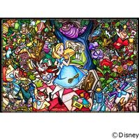 テンヨー ディズニー ジグソーパズル ステンドアート 1000ピース ふしぎの国のアリス ストーリー ステンド DP-1000-027(直送品)