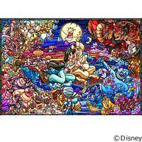 テンヨー ディズニー ジグソーパズル ステンドアート 1000ピース アラジン ストーリー ステンドグラス〈ピ DP-1000-029(直送品)